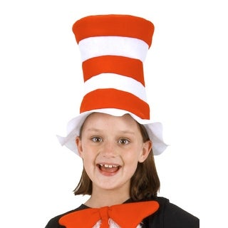 Dr. Seuss Cat In The Hat Child Costume Felt Hat