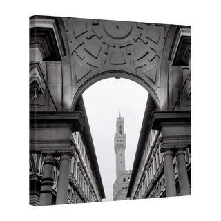 Easy Art Prints Alan Blaustein's 'Firenze #2' Premium Canvas Art