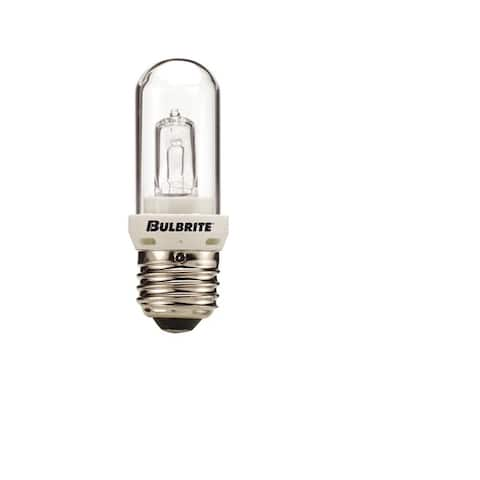 Bulbrite Pack of (5) Dimmable Clear T8 Medium (E26) Halogen Mini