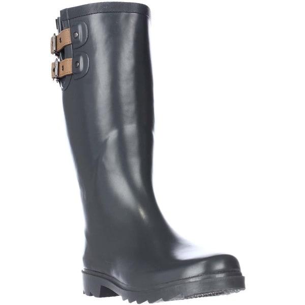 Chooka Top Solid Rain Boots - Charcoal