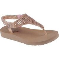 d38b6d05 Shop Skechers Women's Meditation Rock Crown Thong Sandal Charcoal ...
