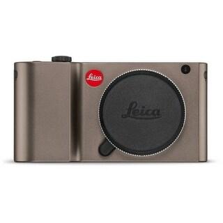 Leica TL Mirrorless Digital Camera (Titanium)