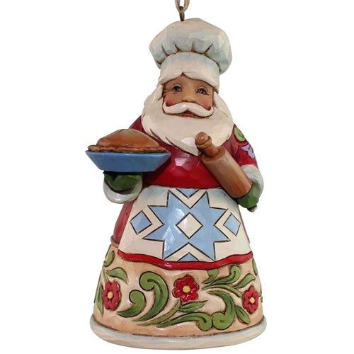 Culinary Santa Ornament