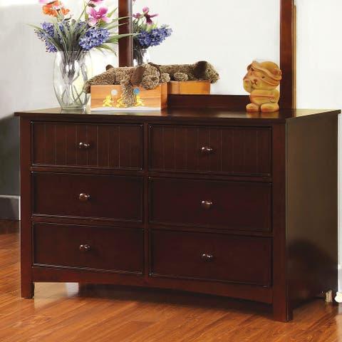 Furniture of America Deer Transitional 6-drawer Dresser