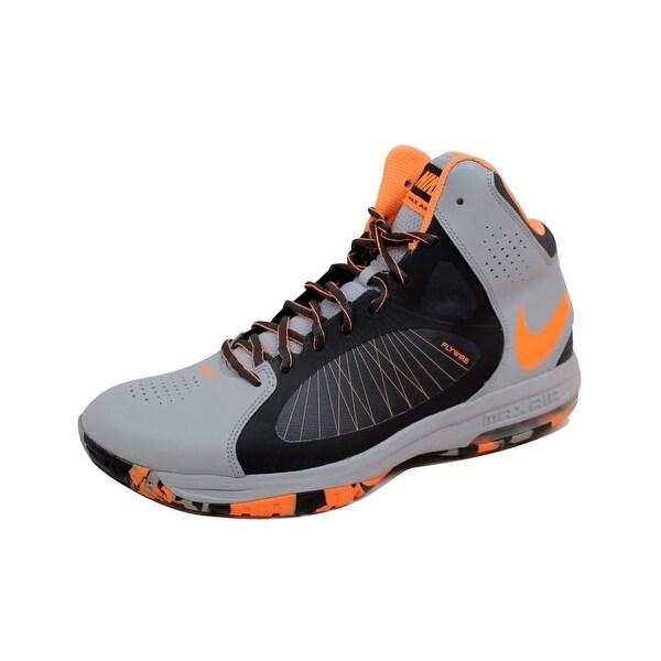 Nike Men's Air Max Actualizer II 2 Wolf Grey/Atomic Orange-Anthracite-Volt 622041-005