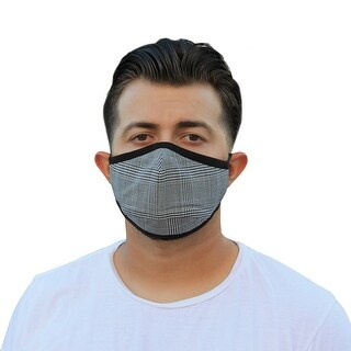 Link to Men's Reusable Fashion Cloth Face Mask with Adjustable Straps, Buffalo Plaid Similar Items in Scarves & Wraps