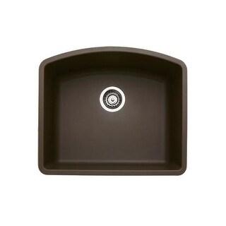 "Blanco 440172 Diamond Single Basin Silgranit II Kitchen Sink 24"" x 20 13/16"""
