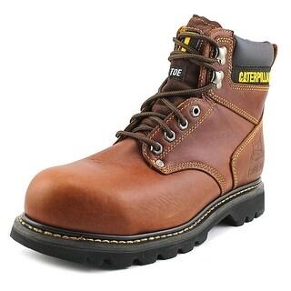Caterpillar Second Shift Steel Toe W Steel Toe Leather Work Boot