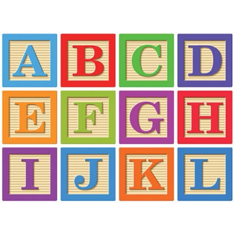 Abc Blocks Magnetic Letters