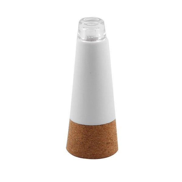 Cork Shaped USB Powered LED Lamp Stopper Decor Bottle Bright White Light