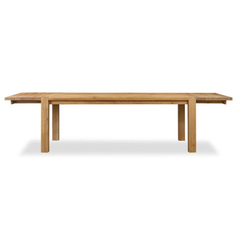 Poly and Bark Festa Extension Dining Table - Oak