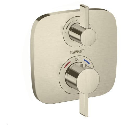 Hansgrohe 15707 Ecostat Single Function Thermostatic Valve Trim Only with Volume Control -