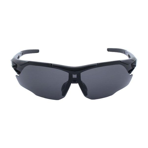 4c1085400398 ROBESBON Authorized Unisex Polarized Sports Goggles Lens Cycling Glasses  Black