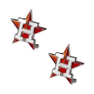 Houston Astros Post Stud Logo Earring Set MLB Charm