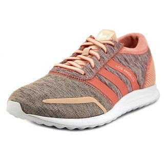 Adidas Los Angeles W Women Round Toe Synthetic Pink Sneakers