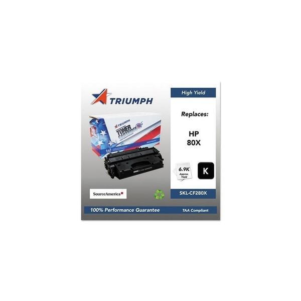 Triumph Remanufactured 80X High-Yield Toner Cartridge - Black Toner Cartridge