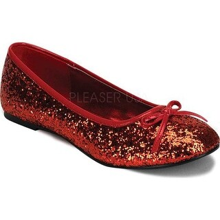 Funtasma Women's Star 16G Red Glitter