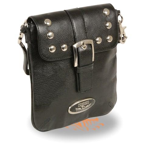 Small Leather Studded Shoulder Bag