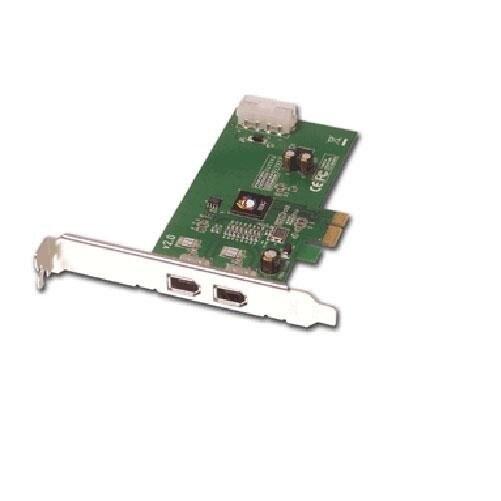 Siig Nn-E20012-S2 Dp Firewire 400 2-Port Pci-Express X1 Card