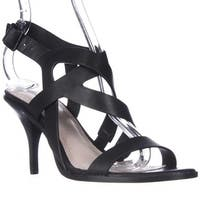 Pour La Victoire Maura Strappy Dress Sandals, Black