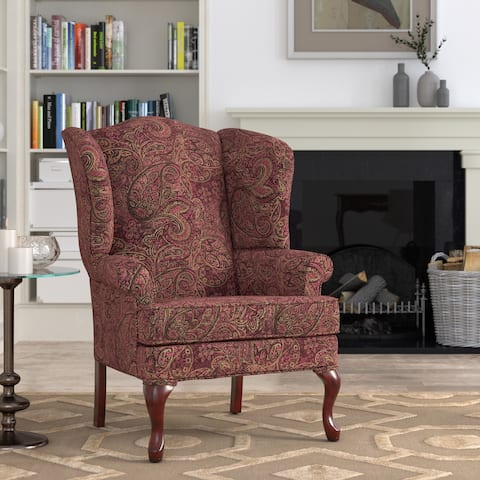 Elyse Wingback Accent Chairs by Greyson Living