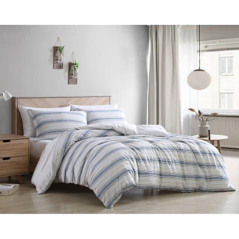 Poppy & Fritz Max Cotton Blue Comforter Set