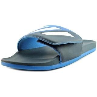 Adidas Adilette Cf Ultra Adj Open Toe Canvas Slides Sandal