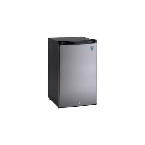 Avanti AR4456 Energy Star 4.4 Cu. Ft. Counterhigh Refrigerator - Stainless Steel