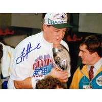 Signed Aikman Troy Dallas Cowboys 8x10 Photo autographed