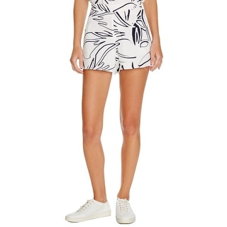 Viktoria & Woods Womens Casual Shorts Printed Flat Front - 4