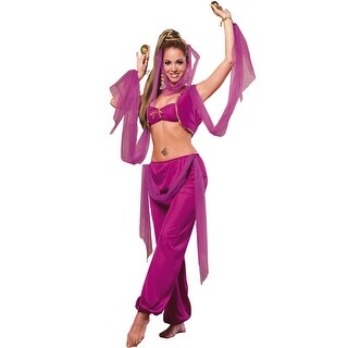 Rubies Arabian Princess Adult Costume - Purple - Standard