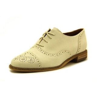 Enzo Angiolini Cristin Cap Toe Leather Oxford