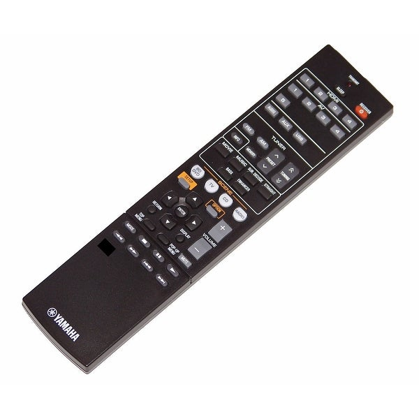 OEM Yamaha Remote Control Originally Shipped With: RXV377, RX-V377, RXV377BL, RX-V377BL, YHT4910U, YHT-4910U