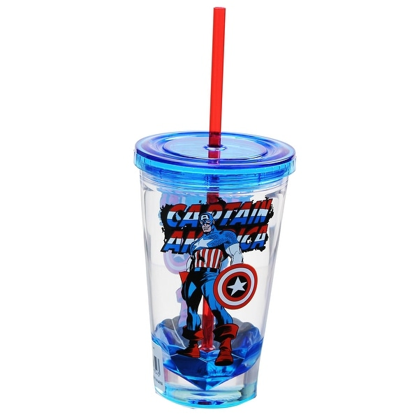 Marvel Retro Captain America 19oz Carnival Cup - Multi