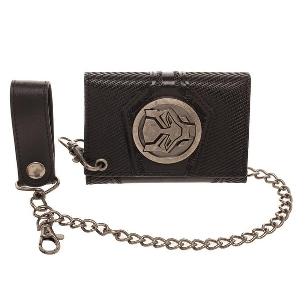 Black Panther Black Chain Wallet