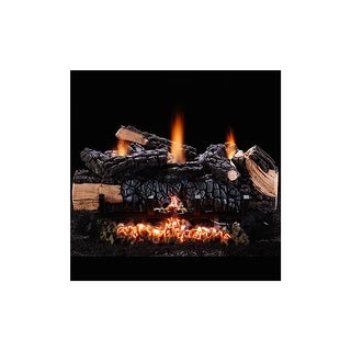 """Hargrove 48563 24"""" Cumberland Char Vent-Free Liquid Propane Logs with Variable Flame - cumberland char"""