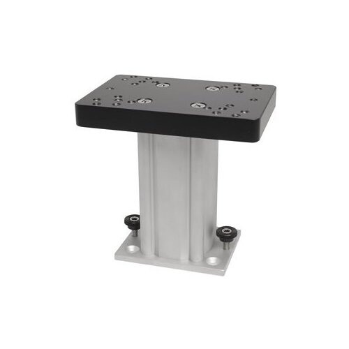 "Cannon Aluminum Fixed Base Downrigger Pedestal Mount 4/"" inch for Surface//Track"