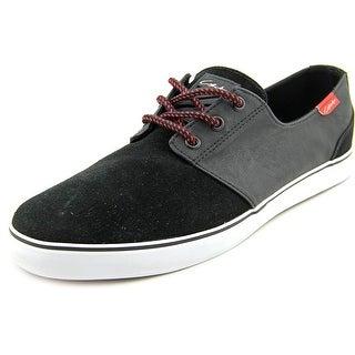 Circa Crip Men Round Toe Canvas Black Skate Shoe
