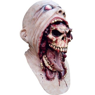 Scary Skull Gross Horror Mask Halloween Costumes Adult - standard - one size