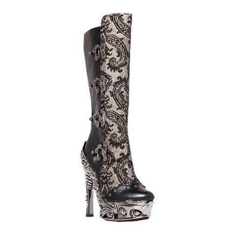 Hades Women's Arianna Knee High Boot Black