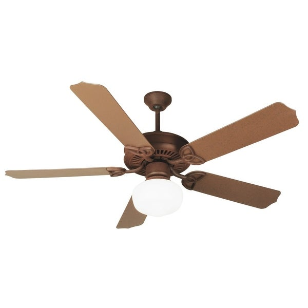 Craftmade K11152 Indoor Outdoor Patio 52in 5 Blade Ceiling Fan Rustic Iron N A Free Shipping Today 14332627