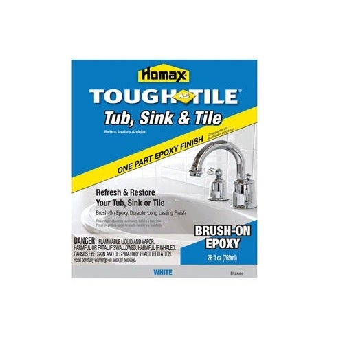 Shop Homax 720773 Tough As Tile Brush-On Epoxy Finish, 1
