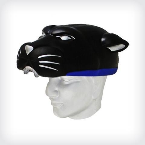 NFL Team Mascot Foamhead Hat: Carolina Panthers - Black