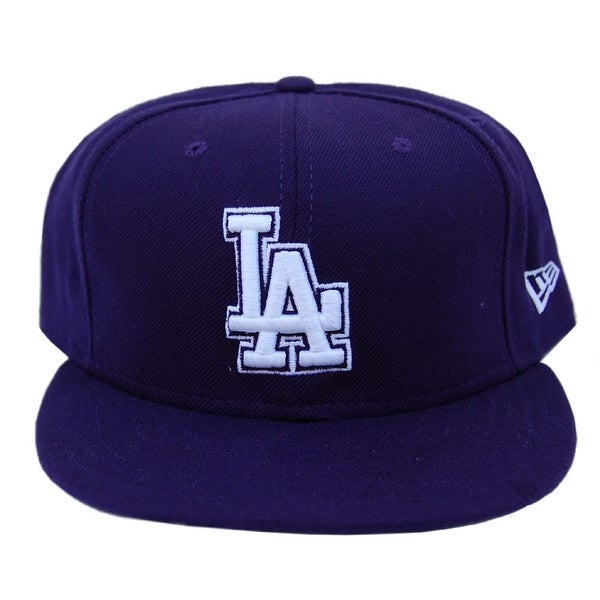 Shop MLB Los Angeles Dodgers New Era 59Fifty Navy Fitted Hat Cap - 7 5 8 -  Free Shipping On Orders Over  45 - Overstock - 16948900 3d69a00c5b65