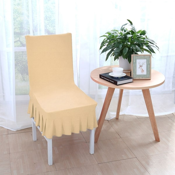Remarkable Shop Stretchy Thicken Plush Short Dining Room Chair Covers Alphanode Cool Chair Designs And Ideas Alphanodeonline