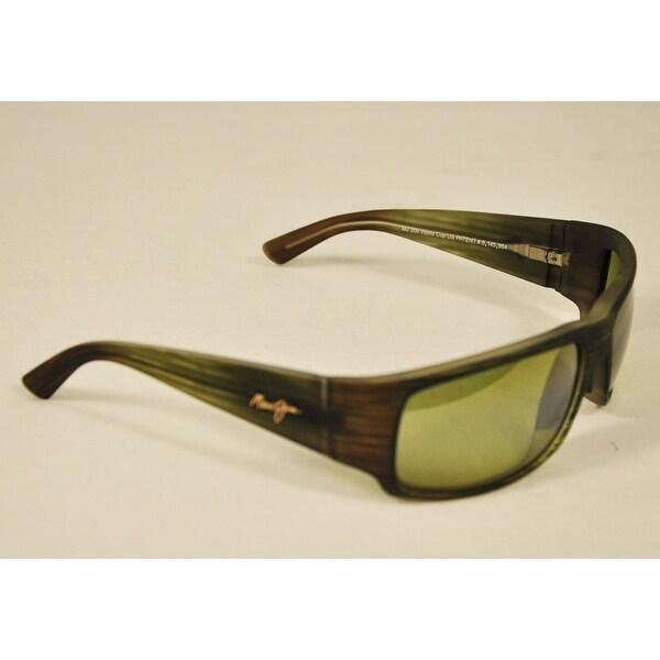 Shop Maui Jim Sunglasses World Cup HT266-15MR Matte Green