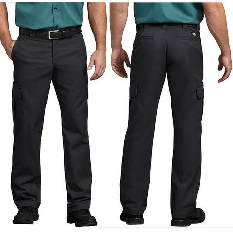 Dickies Men's Flex Regular Fit Straight Leg Work Cargo Pants
