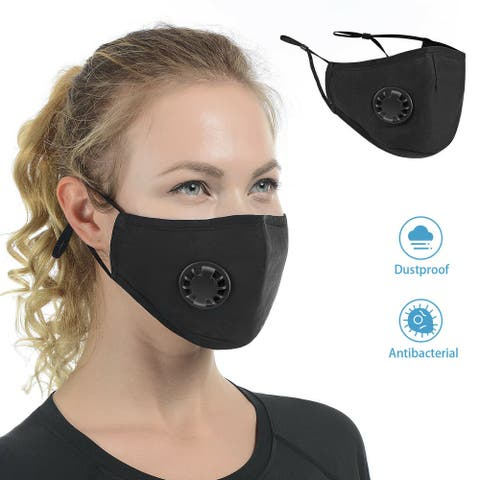 Cali Chic Reusable Washable Face Cover Black Face Mask Ships from USA