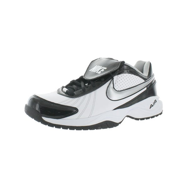 8079b48feb92 Shop Nike Mens Air Diamond Trainer Baseball Shoes Low Top Baseball ...