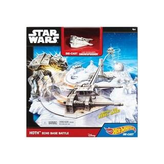 Star Wars Hoth Echo Base Battle Playset from Hot Wheels